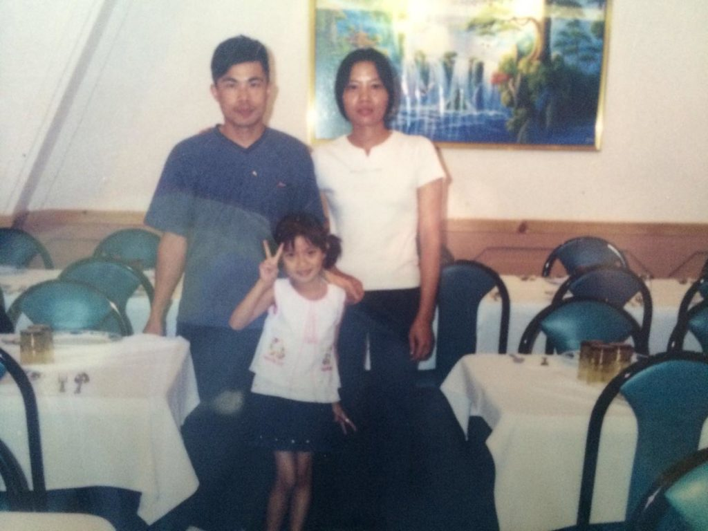 Chinese family in Mexicali Mexico