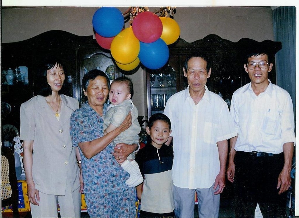 chinese family in mexico