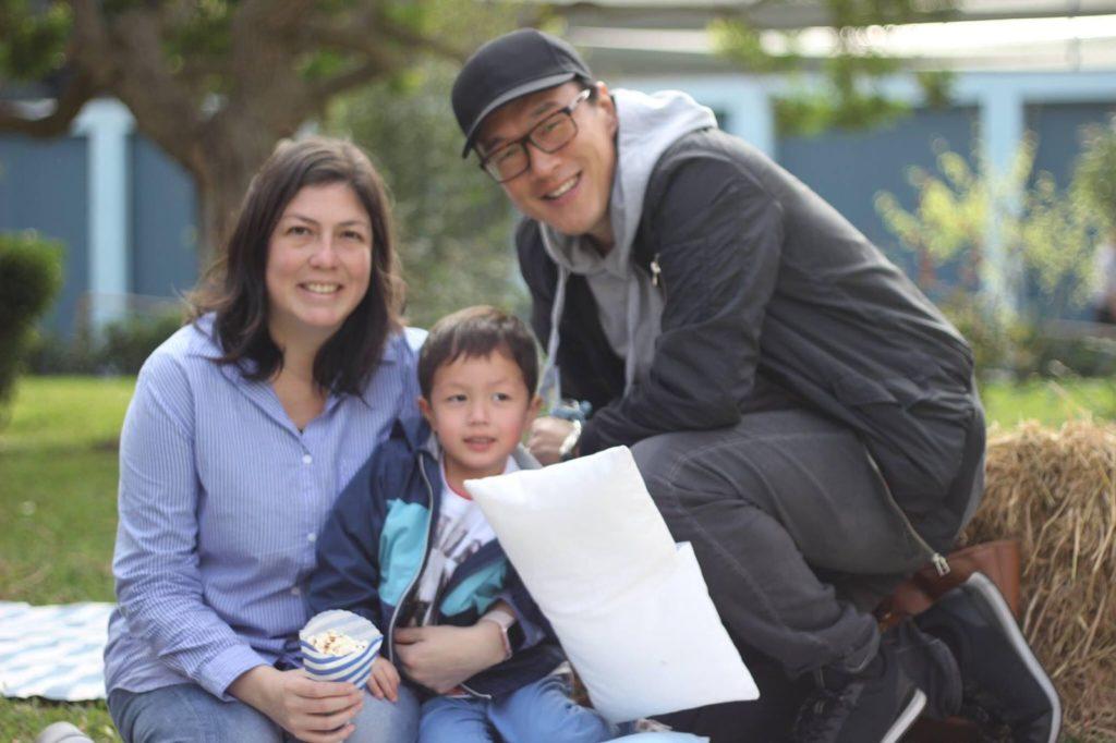Peru Chinese mixed race child