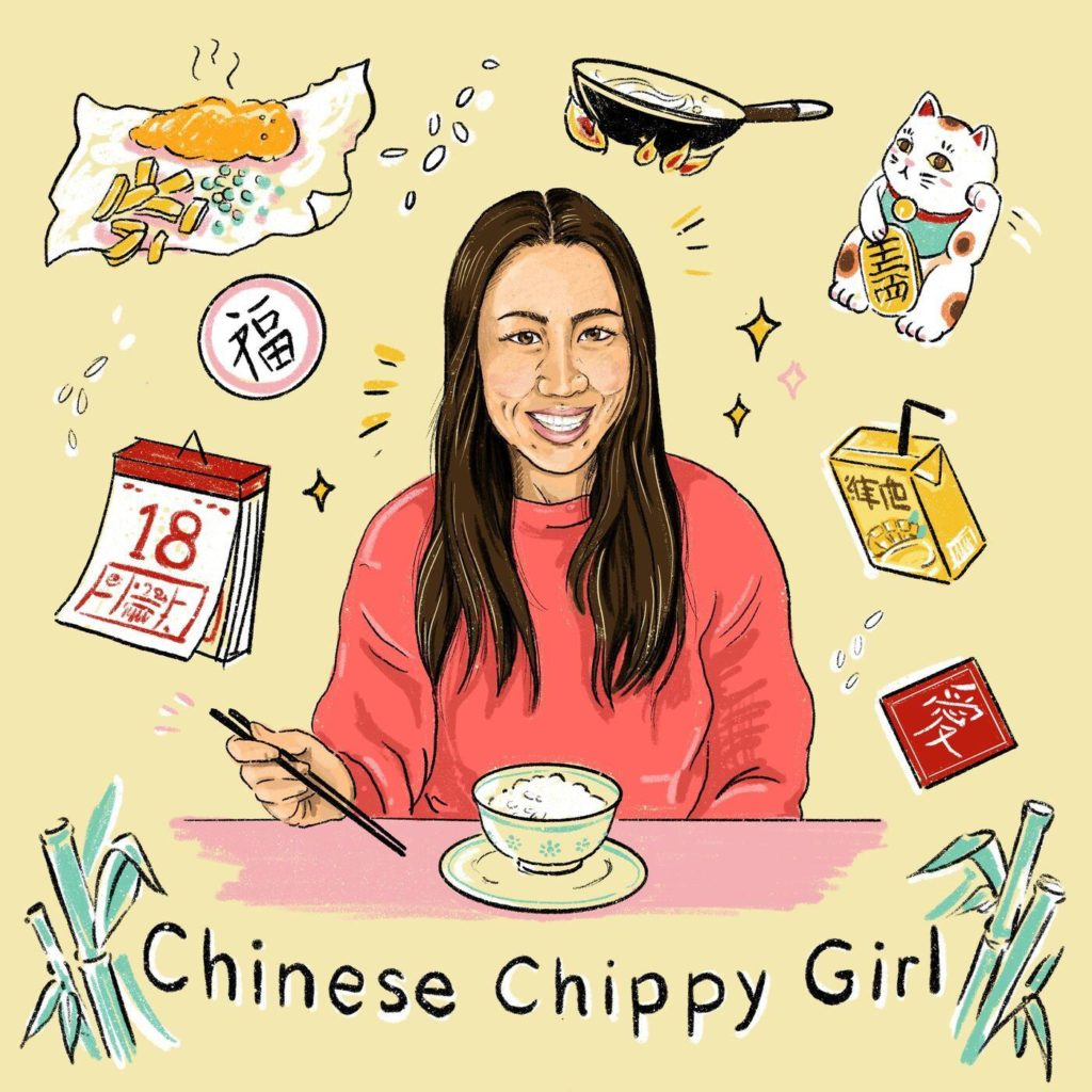 chinese chippy girl podcast about chinese in the uk