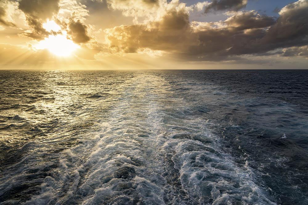 ship tracks ocean