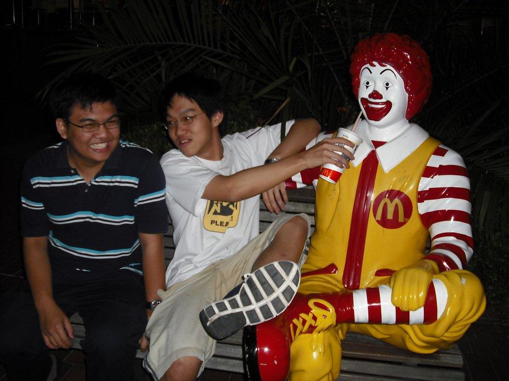 mcdonalds in singapore