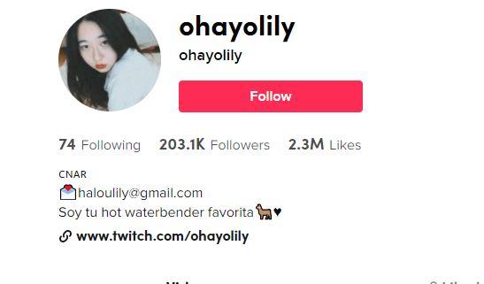 Lily Ohayo