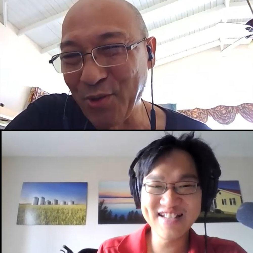 chinese jamaican interview screenshot zoom